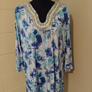 Susan Graver tunic top